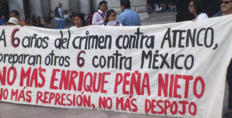 Atenco: 6 Anys d'Impunitat, 6 Anys de Resistència.